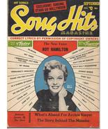 1954 Song Hits Magazine V18 #2 Roy Hamilton Jaye P Morgan Archie Bleyer - $3.95