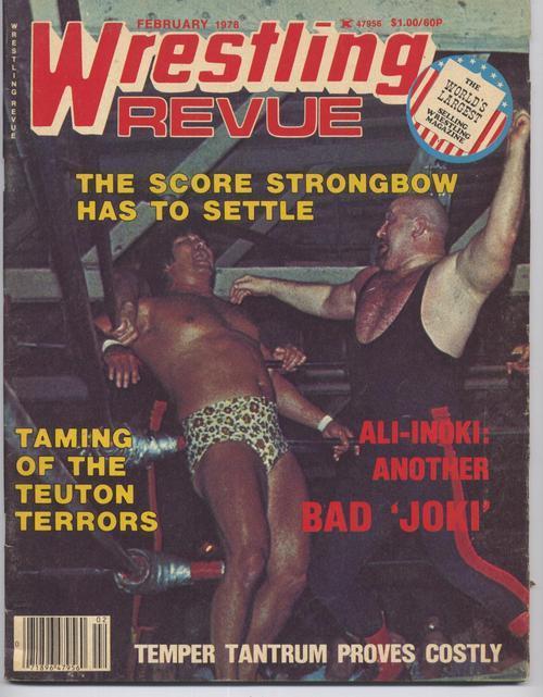 Wrestling revue
