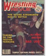 1978 Wrestling Revue Greg Gagne Von Raschke Inoki - $6.36