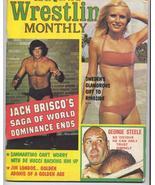 1976 Wrestling Monthly Jack Brisco G Steel Sammartino - $6.36