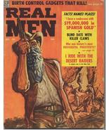 1958 REAL MEN Magazine Adventure Action War Blind Date w/ Killer Claws R... - $14.95