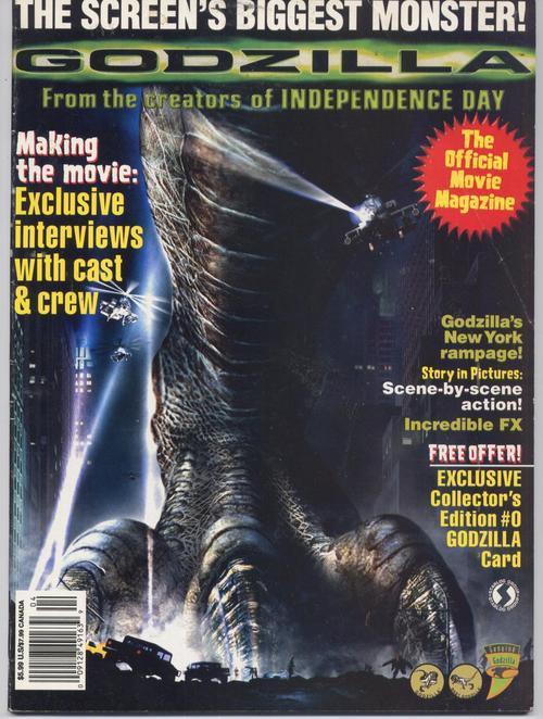 Godzilla magazine 1211944146
