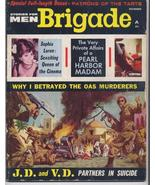 Dec 1962 BRIGADE Magazine Rare 2nd Issue War Girls Battlefield Action - $19.95