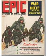 1957 EPIC Magazine #1 Premiere Issue Extremely RARE!! War is Hell! Battl... - $89.95