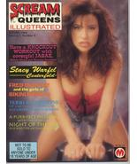 Scream Queens Illustrated #3 Jasae Stacy Warfel Fred Olen Ray Night Of T... - $11.01