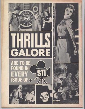 SCREEN THRILLS ILLUSTRATED #9 Behind The Mask Of Zorro  Action Adventure