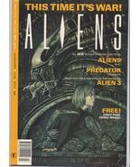 ALIENS MAGAZINE VOL 2 #1 Hive. Cold War. Alien 3  Action Adventure  - $5.06