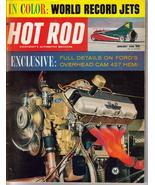 Hot Rod Magazine Jan 1965 Ford Overhead Cam 427 Hemi - $6.95