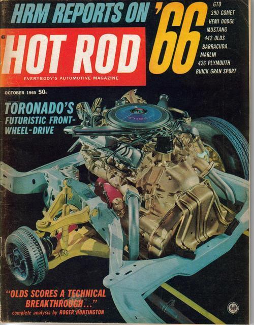 Hot rod oct 65