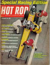 Hot Rod Magazine Nov 1965 Special Racing Edition Bonneville Nationals - $7.95