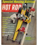 Hot Rod Magazine Nov 1965 Special Racing Edition Bonneville Nationals - $7.95