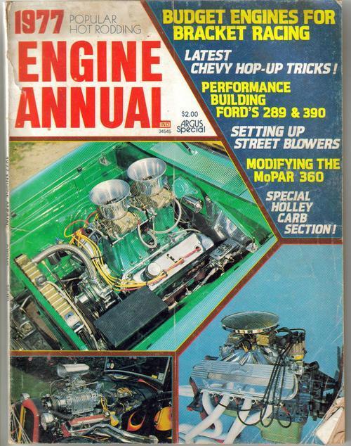 Pop hot rodding engine annual 77