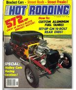 Popular Hot Rodding Aug 1977 572 HP Chevy 4V Small Block Street Freaks Rods - $5.95