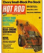 Hot Rod Magazine Nov 1971 Chevy V8 240Z Jack Chrisman - $6.95
