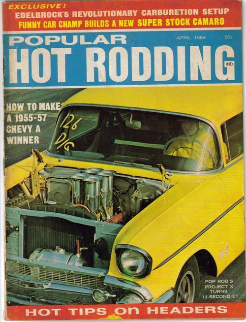 Popular hot rodding apr68