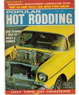 Popular Hot Rodding Apr 1968 1955 Chevy Edelbrocks Carb - $5.95