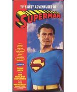 1950's TV'S Best Adventures Of Superman VOL #2  VHS - $8.95