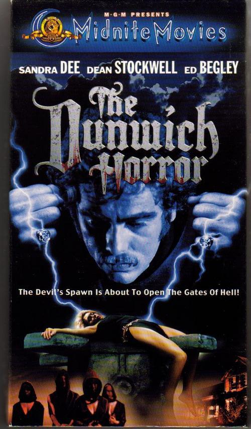 The dunwich horror vhs