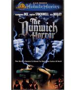 The Dunwich Horror VHS Extremely Rare Sandra Dee Dean Stockwell H.P. Lov... - $79.95