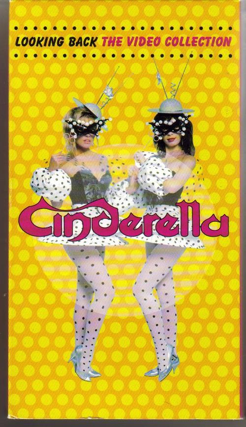 Cinderella VHS Looking Back The Video Collection Hits Shake Me Somebody Save Me