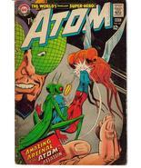 DC The Atom #33 Ray Palmer Jean Loring Insect Bandit Gil Kane - $9.95