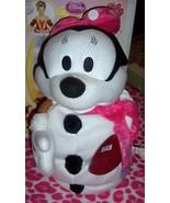 Plush Minnie Mouse Snowman Snowwoman 2 Foot Collapsible Poseable Decorat... - $18.00