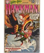 DC 1962 Brave & The Bold #43 presents Hawkman Joe Kubert  Carter Hall Sh... - $59.95