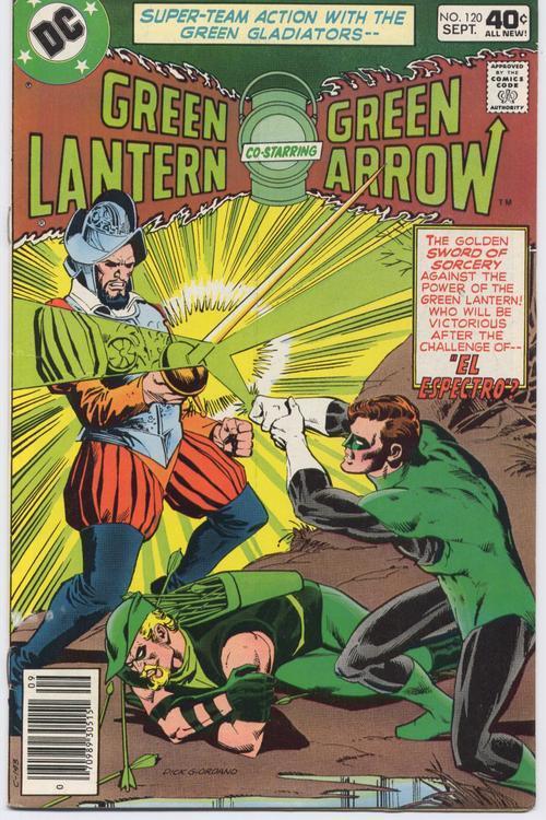 Green lantern  120