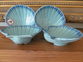 Set of 4 Olfaire Small Scallop Dishes NEW - $15.95
