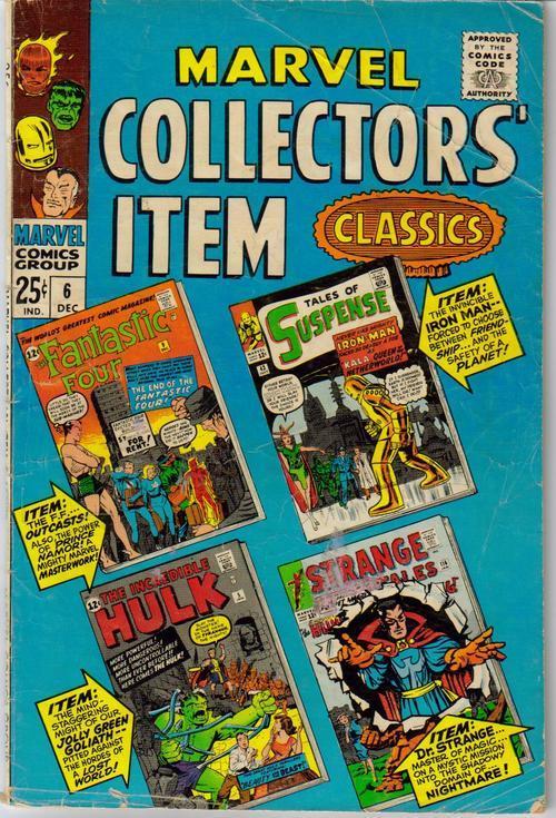 Marvel collectors item classics 6
