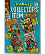 Marvel Collectors' Item Classics #6 Iron Man FF Hulk Action Adventure - $6.95