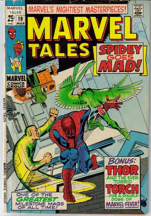 Marvel Tales #19 Spider-Man Thor Human Torch Vulture