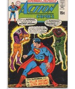 DC Action Comics #383 Superman Legion Of Super-Heroes Clark Kent Lois Lane - $4.95