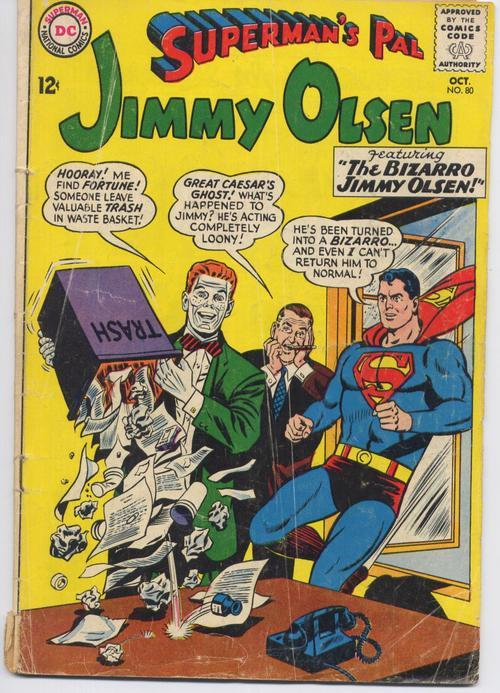 DC 1964-65 Superman's Pal Jimmy Olsen #80 & 84 Two Pack Action Adventure