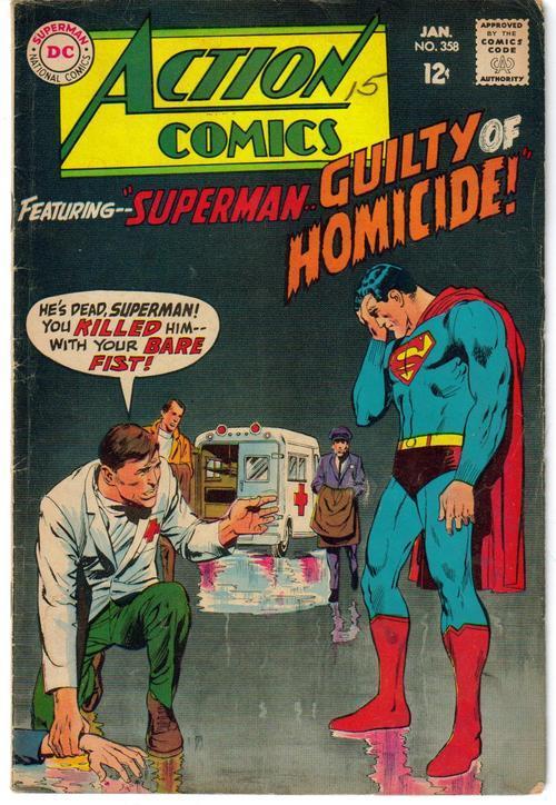 Action comics 358