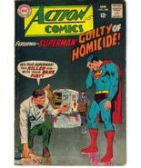 DC Action Comics #358 Superboy meets Supergirl Zor-El Clark Kent Metropolis - $9.95