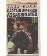 Daily Bugle Promo Newspaper Captain America Assassinated Steve Rogers - $9.95