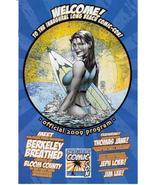 1st Long Beach Comic Con 2009 Program Thomas Jane Jim Lee Jeph Loeb - $9.95