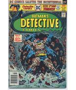 DC DETECTIVE COMICS #461 DC Salutes The Bi-Centennial Batman Bruce Wayne... - $7.95