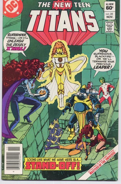 DC The New Teen Titans #25 Robin Kid Flash Speedy Aqualad