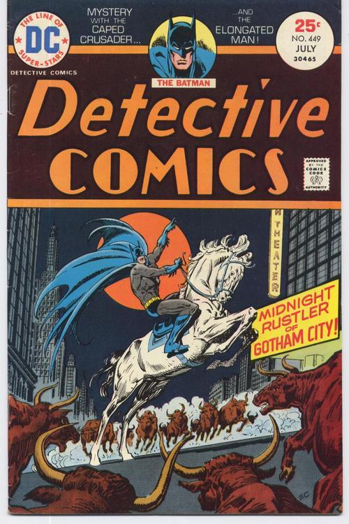 DC DETECTIVE COMICS #449 ELONGATED MAN Appearance BATMAN Bruce Wayne