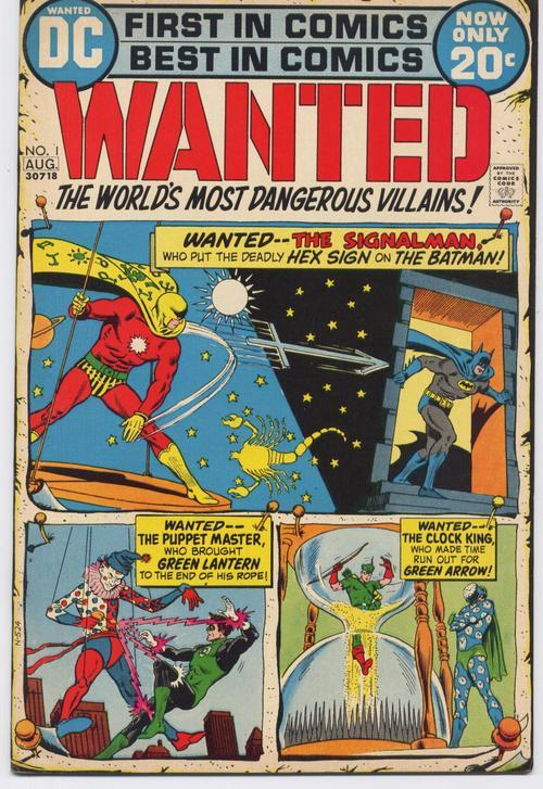 DC WANTED #1 GREEN LANTERN #1 BATMAN #112 REPRINTS Signalman Puppetmaster