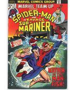 Marvel Team-Up #14 Spider-Man Sub-Mariner - $4.95