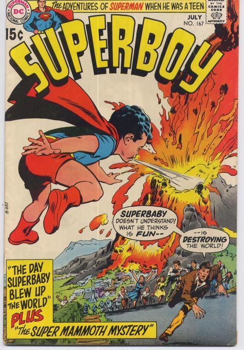 Superboy  167