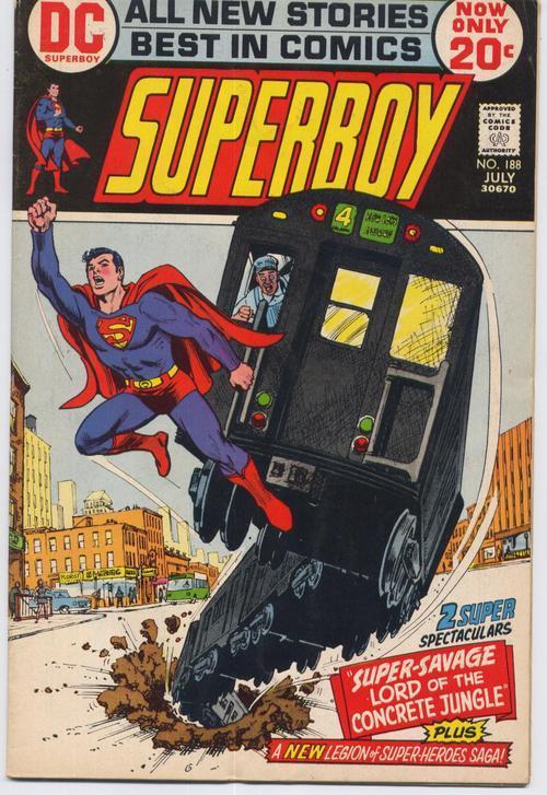 Superboy  188