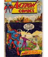 DC Action Comics #412 Secret of the First Metropolis! Clark Kent Perry W... - $4.95
