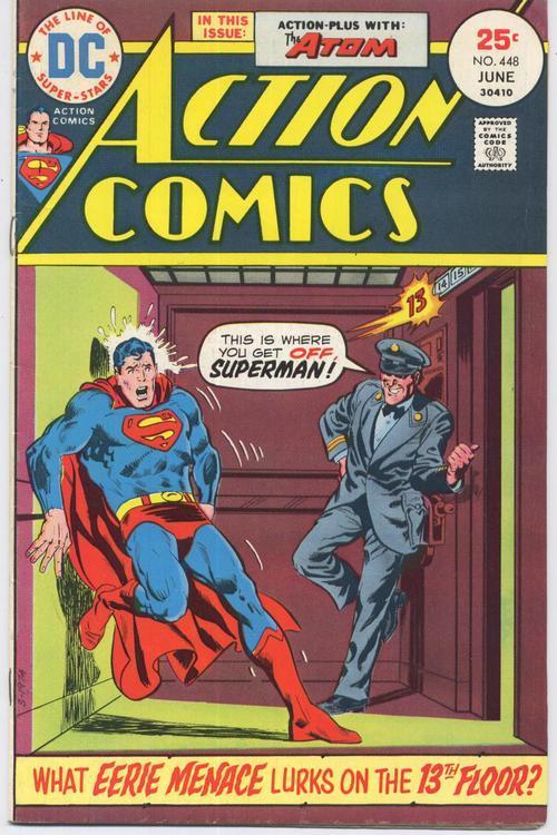 Action comics  448