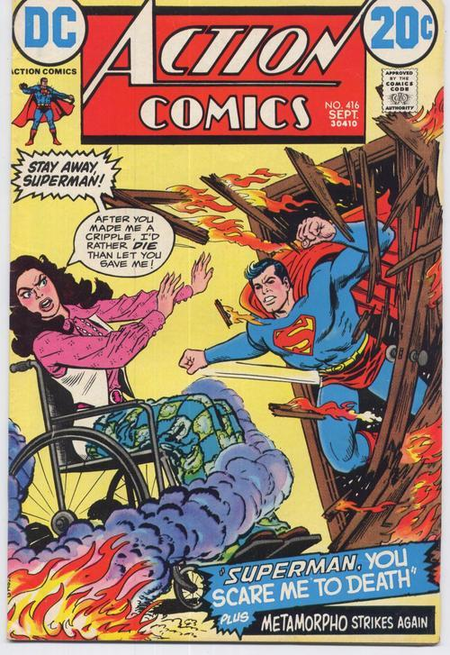 DC Action Comics #416 Superman Metamorpho Smallville DC Lois Lane Metropolis