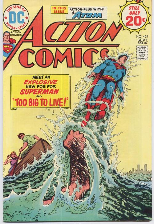 Action comics  439