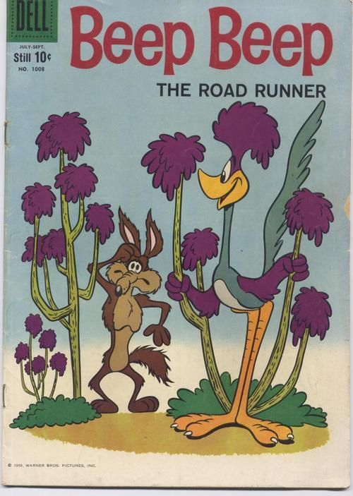Dell 1959 BEEP BEEP THE ROAD RUNNER #1008 VERY GOOD